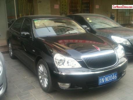 Spotted in China: Hongqi HQ300