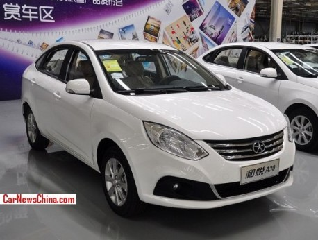 JAC Heyue A30 will hit the China car market in September