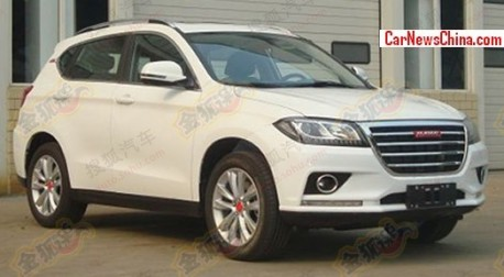 Spy Shots: Haval H2 SUV will get two faces in China