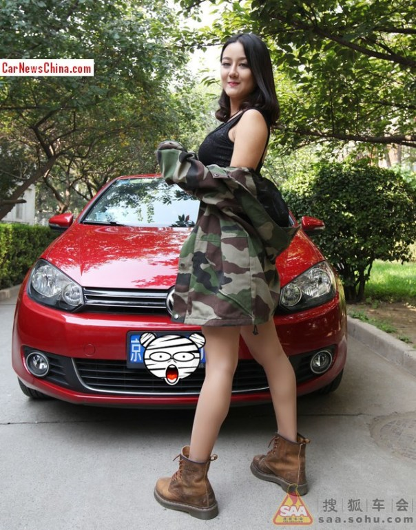 china-girl-volkswagen-golf-3