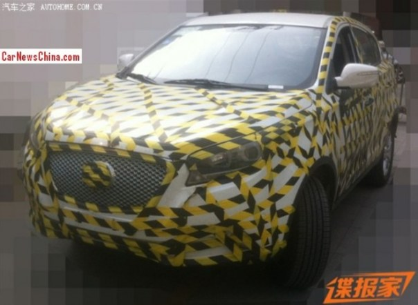 Spy Shots: Hawtai A25 SUV testing in China