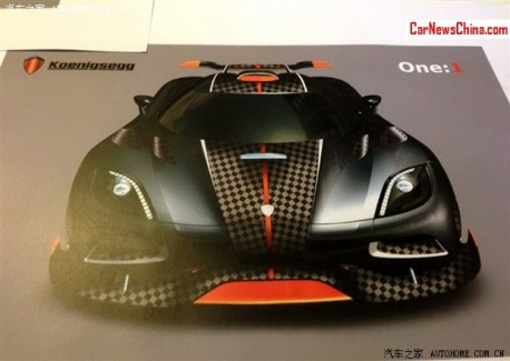 Koenigsegg One:1 will do 450 km/h, but only in China