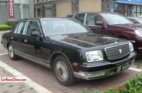 Spotted in China: Toyota Century