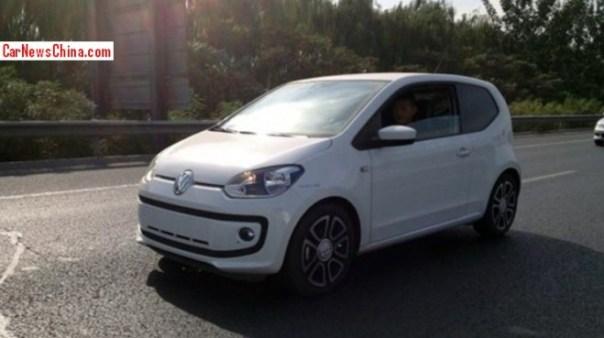 Spy Shots: Volkswagen Up! seen testing in China