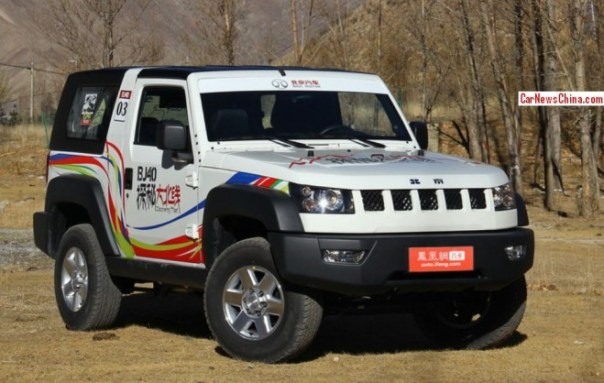The Beijing Auto BJ40 is Ready for the China car market