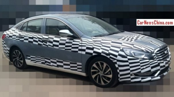 Spy Shots: facelifted FAW-Besturn B70 sedan seen testing in China