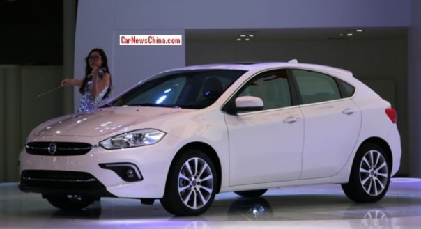 Fiat Viaggio hatchback arrives at the Guangzhou Auto Show