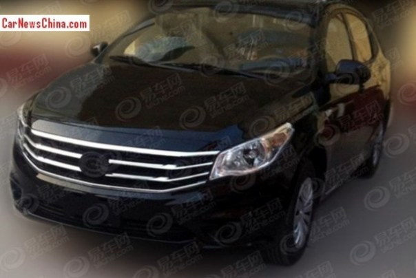 Spy Shots: new Gonow sedan testing in China