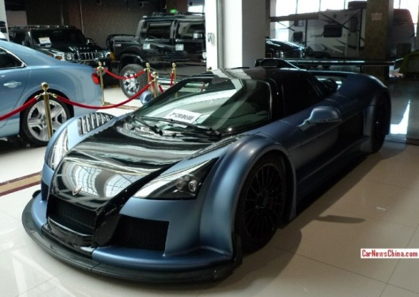 Super Car China Super Spot: Gumpert Apollo Sport