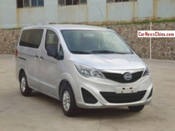 Spy Shots: BYD M3 MPV is BYD's take on the Nissan NV200