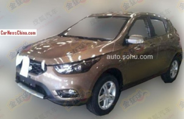 Spy Shots: FAW-Xiali T012 Crossover is almost Ready for the China car market