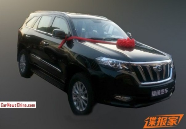Spy Shots: new Foday SUV is Ready for the China car market