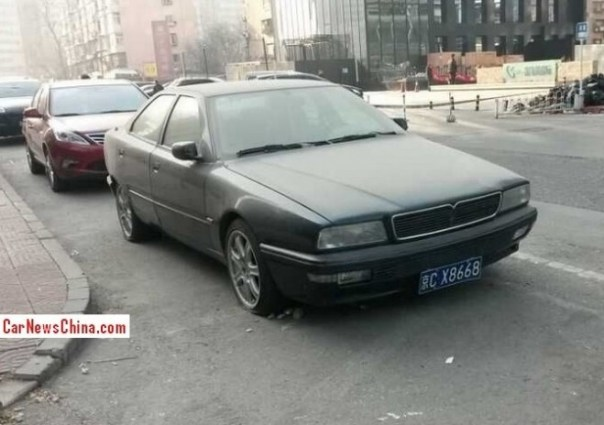 Spotted in China: abandoned fourth-generation Maserati Quattroporte