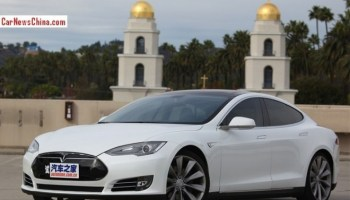 Tesla Model S is going long-wheelbase for the Chinese car