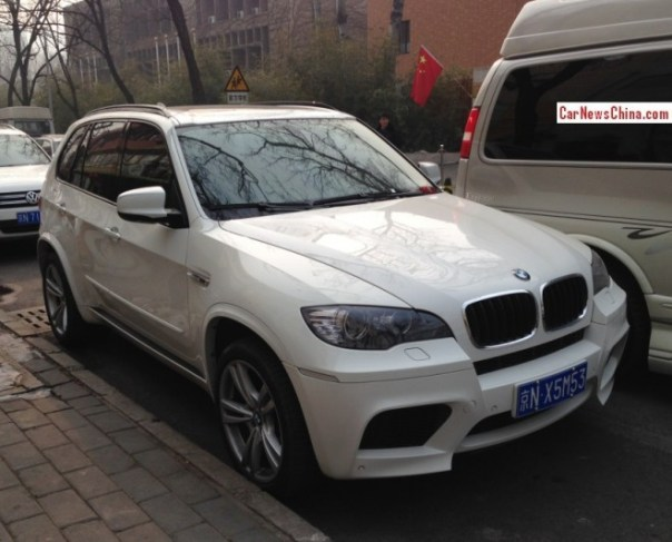 BMW X5M has a License in China