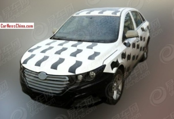 Spy Shots: FAW-Besturn B30 sedan seen testing in China