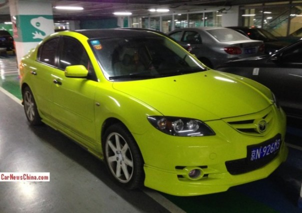mazda-3-yellow-china-1