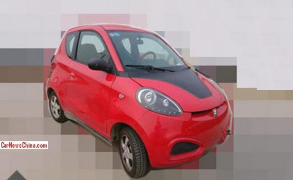 Spy Shots: Zotye EV mini car seen testing in China