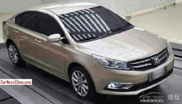 Spy Shots: Zotye Z500 sedan for the Chinese auto market