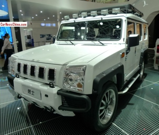 Beijing Auto BJ2022 Brave Warrior Concept debuts on the Beijing Auto Show