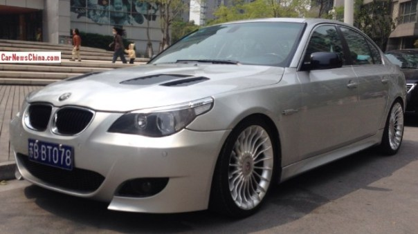 Spotted in China: BMW 5Li with a body kit