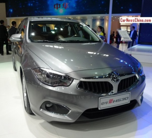 Facelifted Brilliance H530 sedan debuts on the Beijing Auto Show