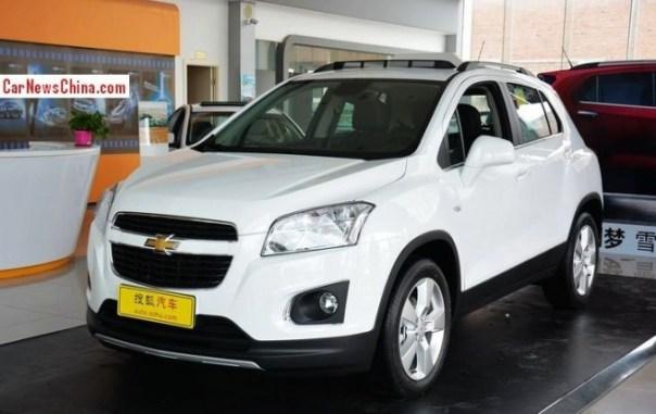 Chevrolet Trax hits the China car market