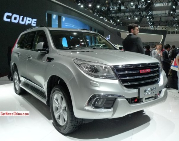 Haval H9 debuts on the Beijing Auto Show