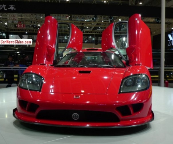 Saleen Super S7 debuts on the Beijing Auto Show