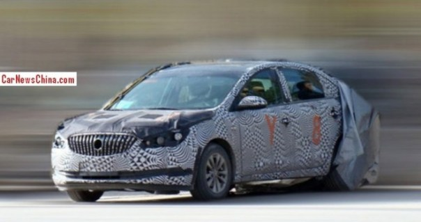 Spy Shots: facelifted Buick Excelle GT testing in China