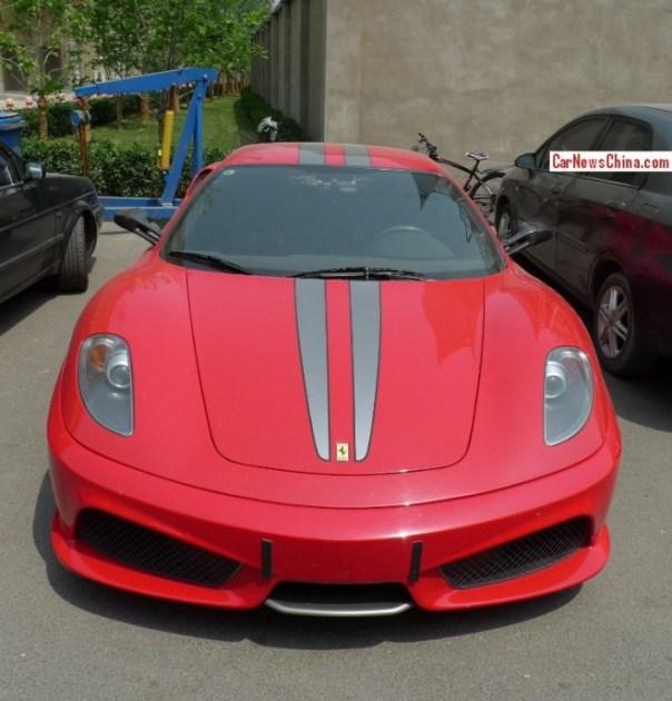 Spotted in China: Ferrari F430 Scuderia