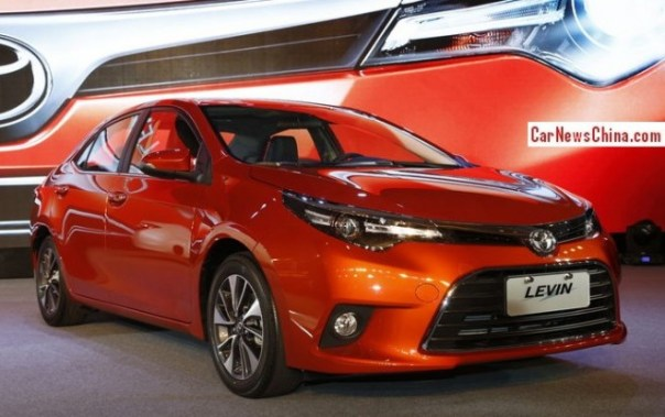 Toyota Levin will be launched on the China car market on July 28