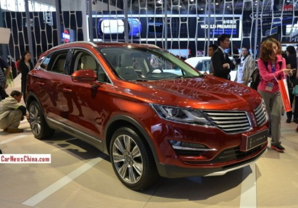 Lincoln to launch five new cars in China by 2016