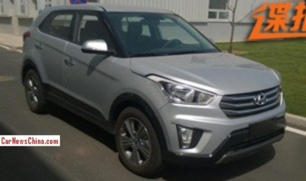 Spy Shots: Hyundai ix25 is Naked in China