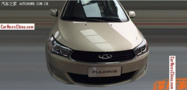 Spy Shots: Chery Fulwin 8 MPV for the Chinese car market