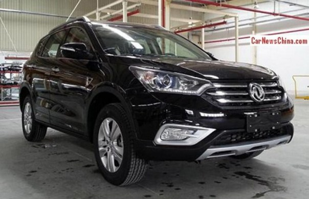 Spy Shots: Dongfeng Fengshen AX7 is almost Ready for the Chinese auto market