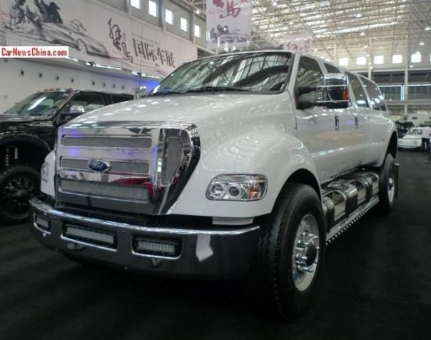 China Super Car Super Spot: Ford F-650 Supertruck