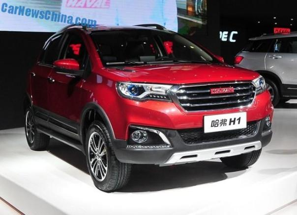 Haval H1 SUV debuts in China on the Chengdu Auto Show