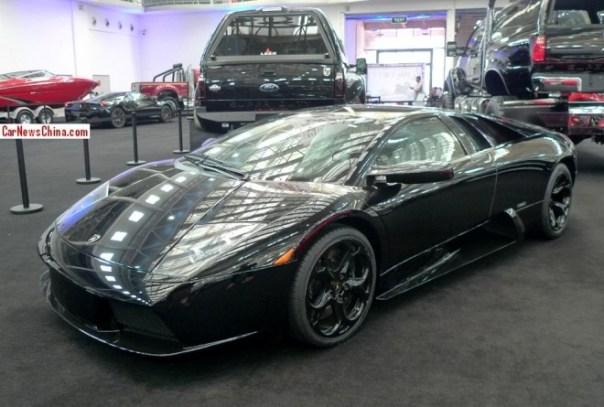 China Super Car Super Spot: Lamborghini Murcielago