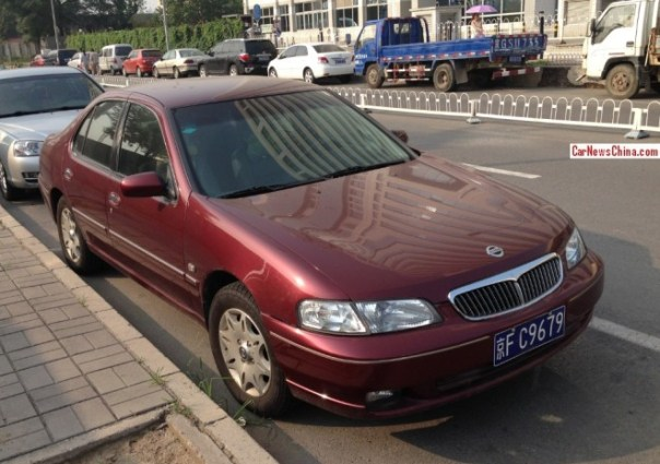 Spotted in China: Nissan Bluebird EQ 7200-II