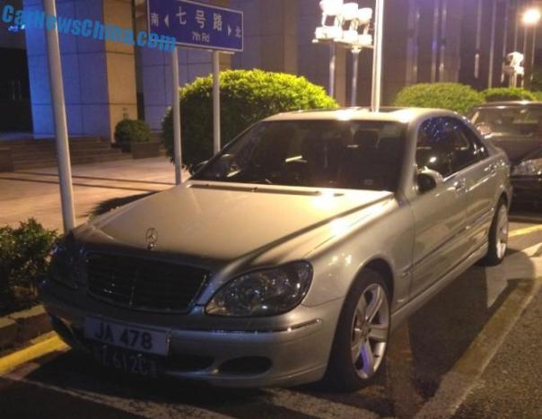 Mercedes-Benz S350 has a body kit in China