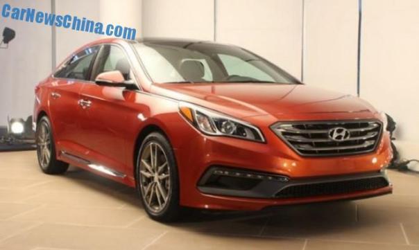 New Hyundai Sonata will be manufactured in China from November
