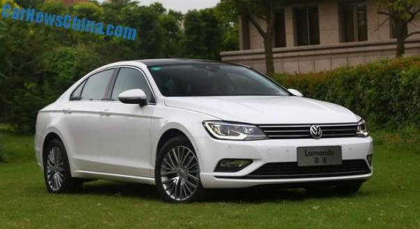 This is the new Volkswagen Lamando for the Chinese car market