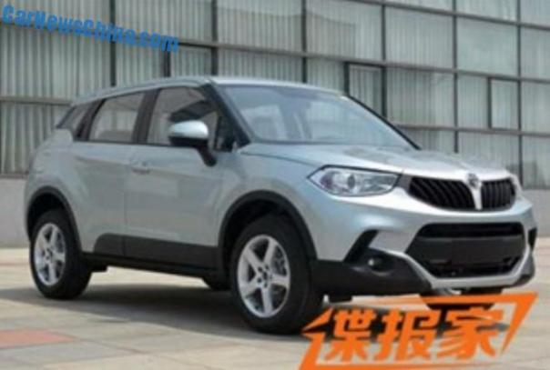 Spy Shots: Brilliance V3 SUV is Naked in China