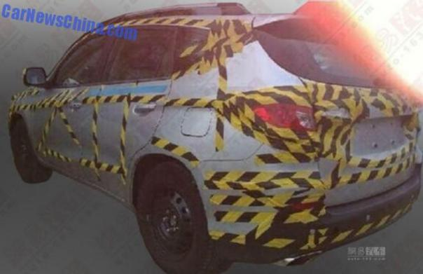 Spy Shots: BYD S3 SUV testing in China