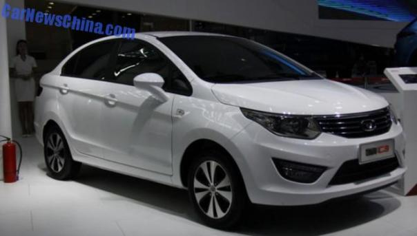 2014 Guangzhou Auto Show: Cowin Auto C3 sedan debuts in China