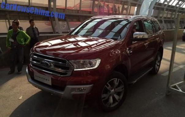 Ford Everest arrives at the Guangzhou Auto Show in China srcset=