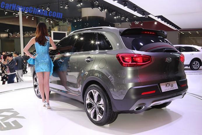 2014 Guangzhou Auto Show Kia KX3 concept debuts in China