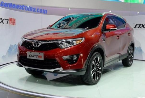 2014 Guangzhou Auto Show: SouEast DX7 SUV unveiled in China