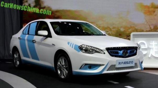 Beijing Auto Senova ES210 EV launched in China